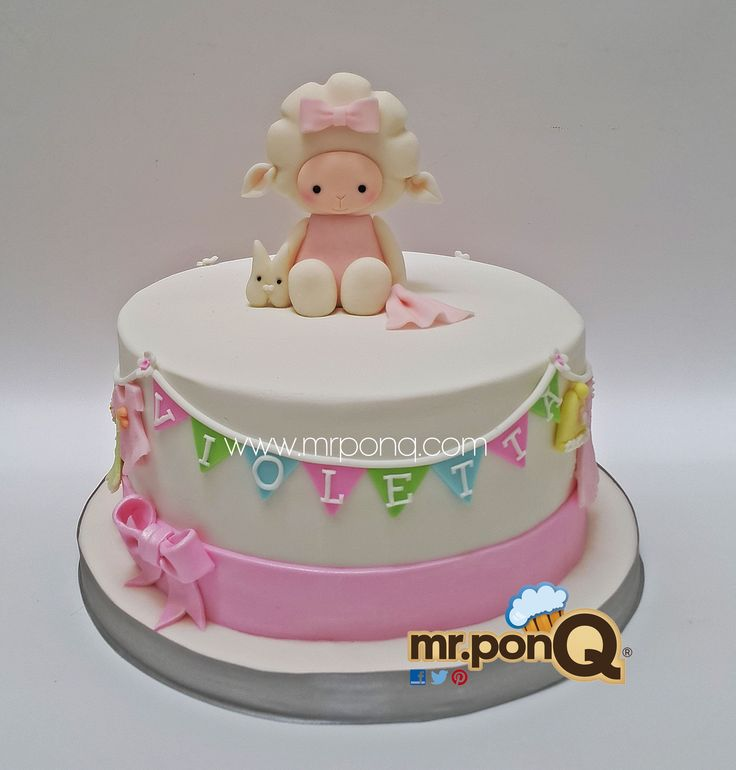 Torta Baby Shower Niña