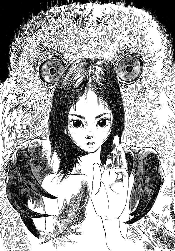 Spirits Flying in The Sky by Igarashi Daisuke