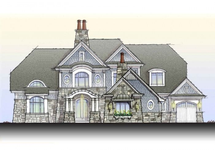 Shingle Style Curved Roof Google Search Dream Home