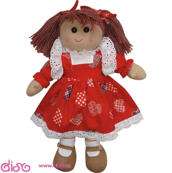 MUÑECAS CON CORAZÓN ¡Feliz San Valentín 2017! #I Love Disy Muñecas de trapo con corazón, con vestidos a todo color para cualquier edad. Conoce y disfruta de nuestra preciosa colección.    Desde 9,95€ COMPRA YA