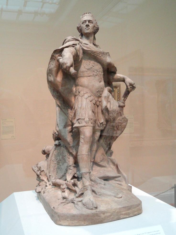Louis XV by Lemoyne, terracota model