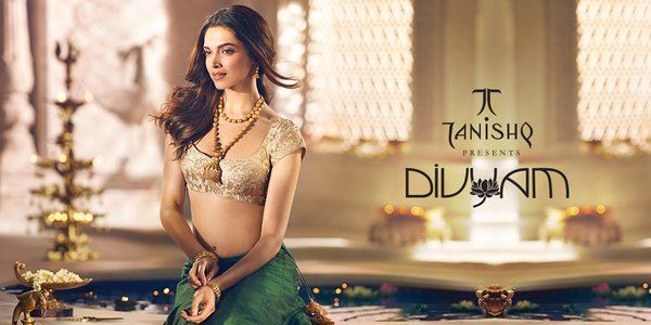 Filmy butterfly deepika padukone new photoshoot for for Deepika padukone new photoshoot for tanishq jewelry divyam collection