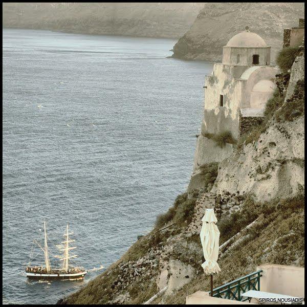 Santorini - The Pirates by Spiros Nousiadis