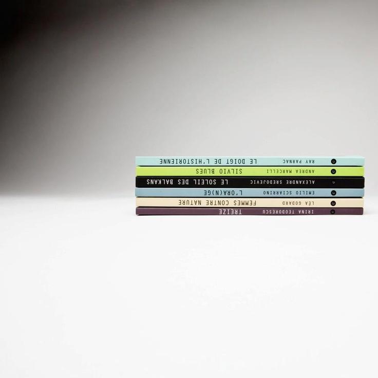 EMUE Books. Photo by Geraldine Aresteanu.