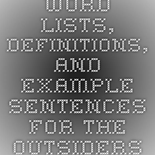 1984 Book 3 Chapter 1 Quotes: Word Lists, Definitions, And Example Sentences For The