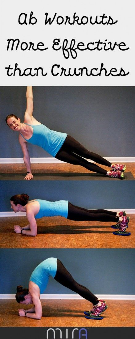 Ab Workouts more effective than crunches.  Inspired by Mira