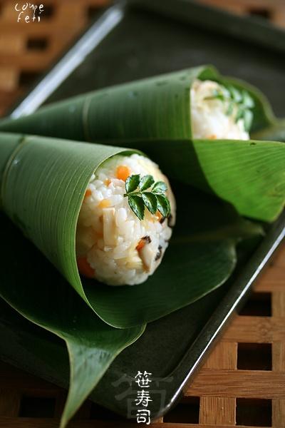 Bamboo Shoot Sushi 笹の葉寿司 (Sasanoyō sushi)