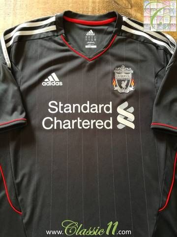 050aef5f3 Official Adidas Liverpool away football shirt from the 2011 12 season.