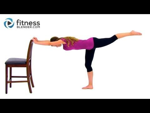 Fitness Blender Total Body Barre Workout – 39 Minute Barre Workout Video. THIS KILLS YOUR WHOLE BODY!!