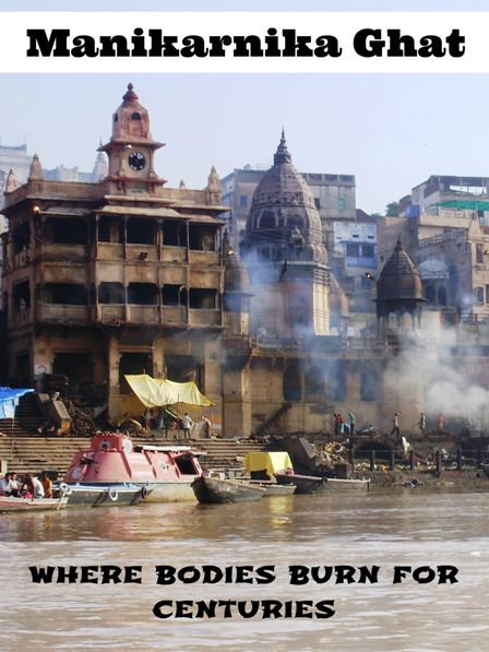 """""""Manikarnika Ghat usually gives a person serenity of mind and soul. It gives awareness of yourself. It gives awareness of life itself to which people often forget. Here is suddenly everything so unreal but at the same time you are experiencing the most realistic feeling of being...""""  More: http://www.pathismygoal.com/manikarnika-ghat-lesson-about-death-and-temporality-of-things/"""