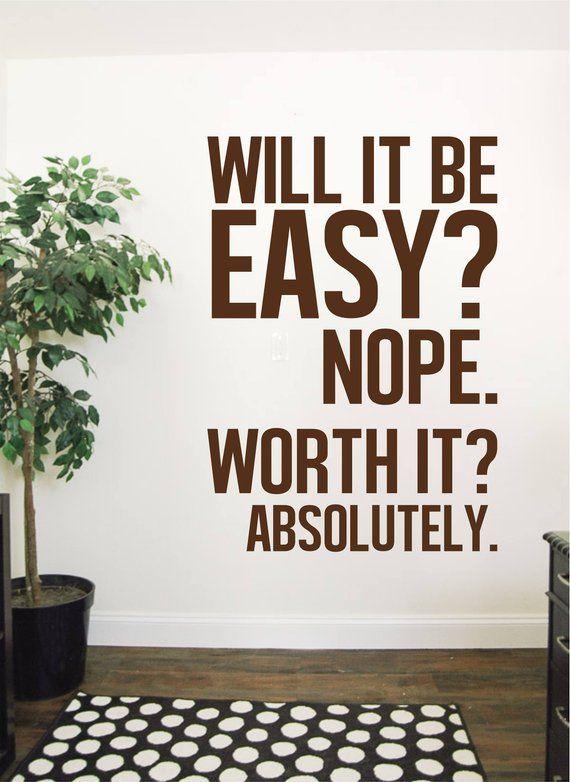 motiverende citaat muur sticker voor huis slaapkamer business motivational quotes motivational wall art business