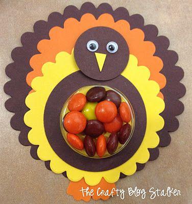 Turkey Treats....I am def making these for preschool!! So cute :)