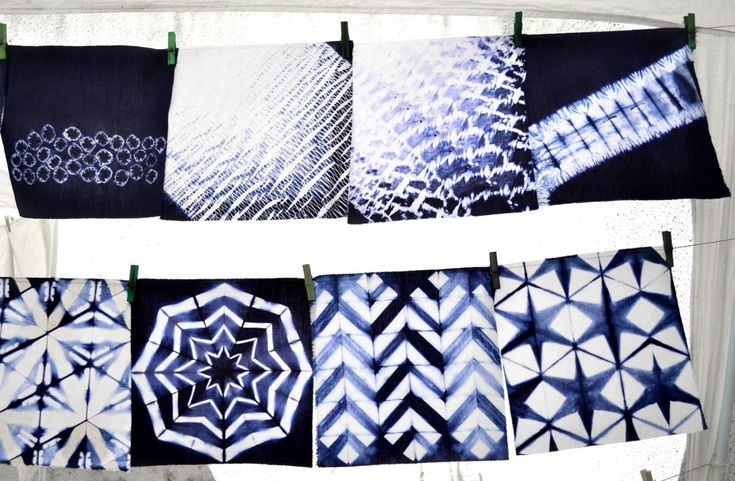 Curso de SHIBORI nivel inicial - Taller Francisca Núñez Reveco – Shibori, batik, papel, telar: arte y diseño textil en Santiago de Chile