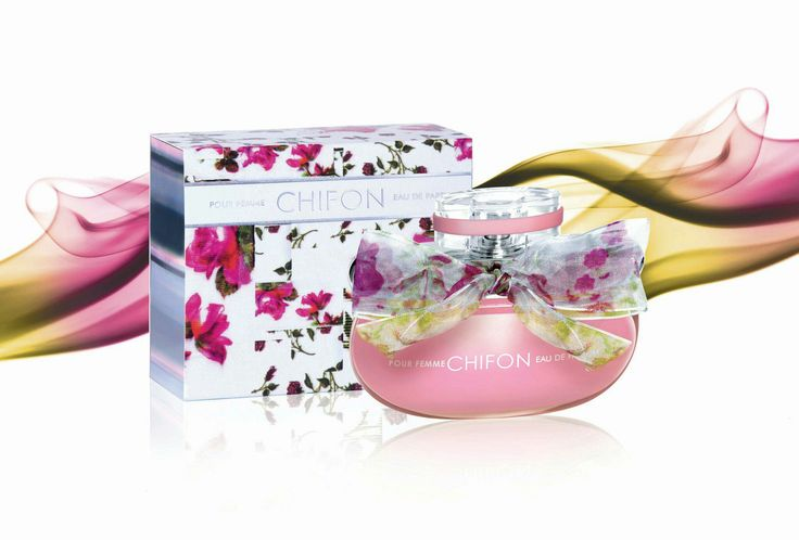 Emper Chifon for Women Edp 100 ml. Bergamot, Rose & Vanilla.