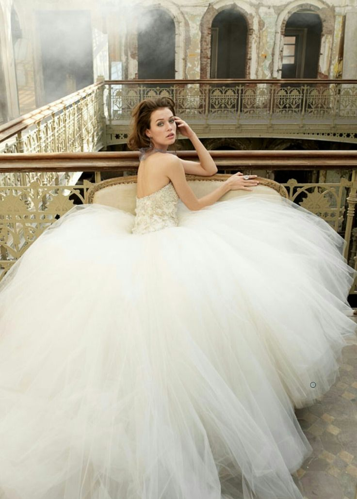 34 best images about Ball Gown Wedding Dresses on Pinterest