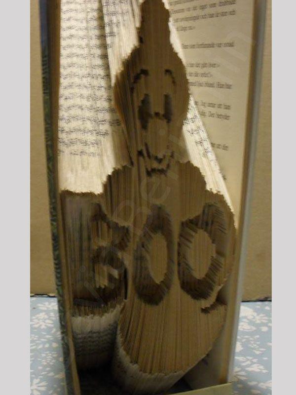 halloween altered book