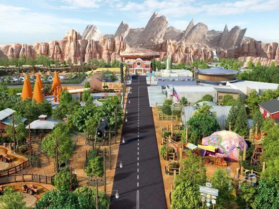 Disney California Adventure® Park, Cars Land, Disneyland® Resort | Anaheim/Orange County - Visitor Information