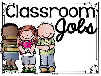 Classroom Jobs - Featuring Melonheadz Clipart #kindergarten