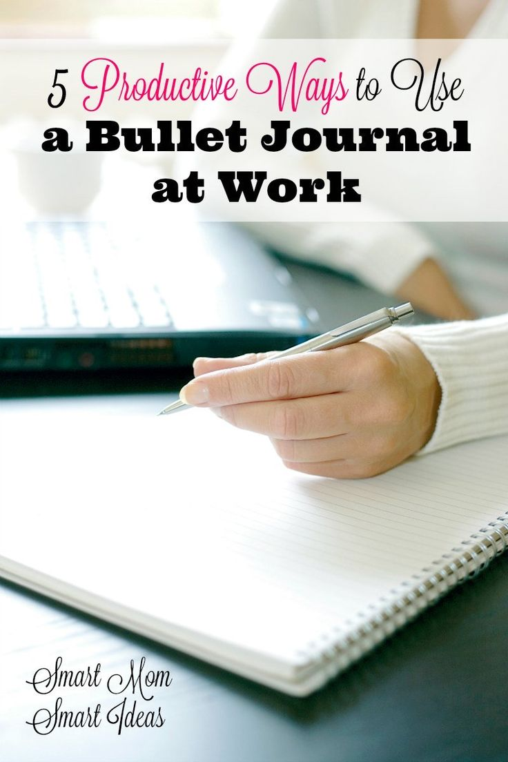 Bullet journal for work | How to use a bullet journal at work | time management at work | Being productive at work #bulletjournal #bulletjournalideas #bulletjournaltips