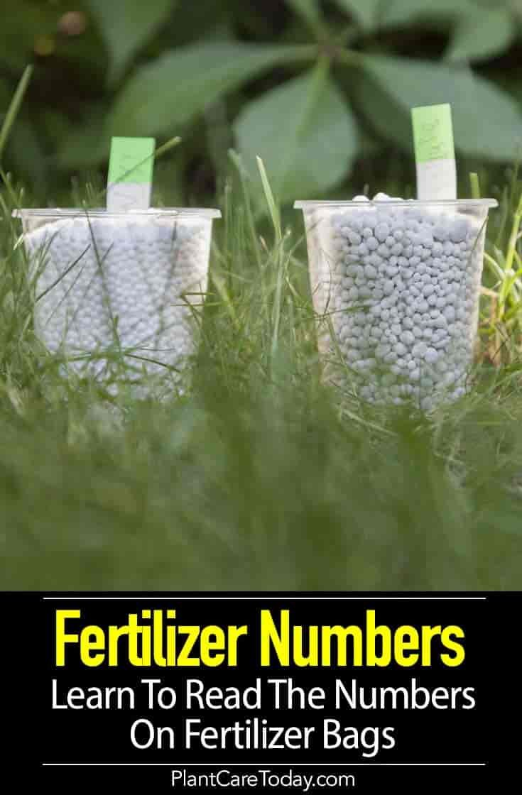 Fertilizer Numbers Learn To Read The Numbers On Fertilizer Bags Organic Gardening Pest Control Organic Gardening Books Organic Gardening