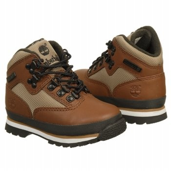 Timberland Euro Hiker Tod/Pre Boots (Tan Smooth) - Kids' Boots - 12.0 M