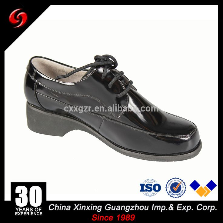 Military Office Leather Women Shoes / Lady Dress Shoes