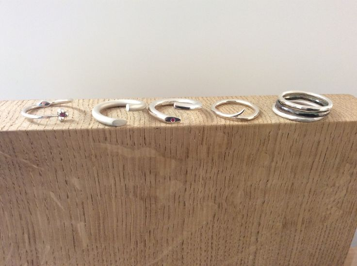 Stunning silver rings from Andrea Esrin