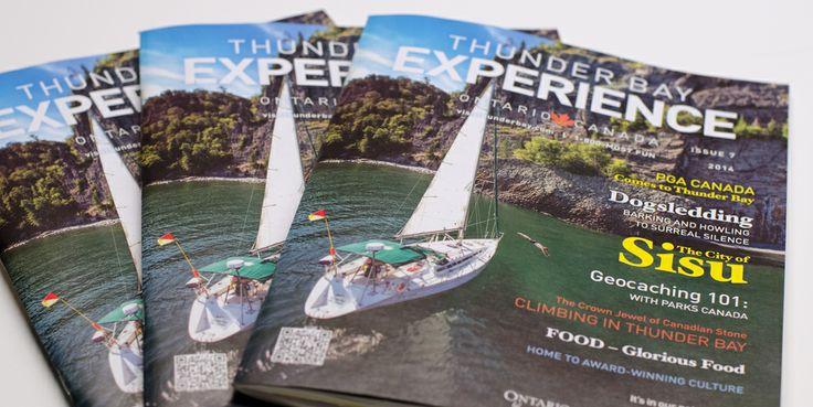 Thunder Bay Experience Guide – Generator Strategy Advertising | Generator Strategy Advertising  #tourism #thunderbay #magazine #editorial #layout
