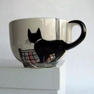 Esta seria a minha terceira xícara de gato *_*