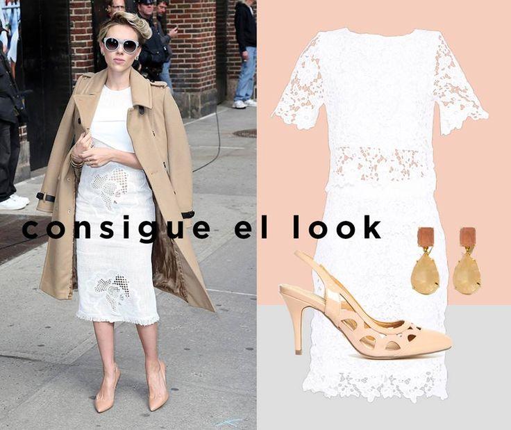 #ScarlettJohansson no deja de sorprendernos desde su último cambio de look. Este #outfit nos encanta, ¿a ti?