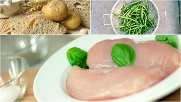 Zkuste zapečené brambory s kuřetem a fazolkami