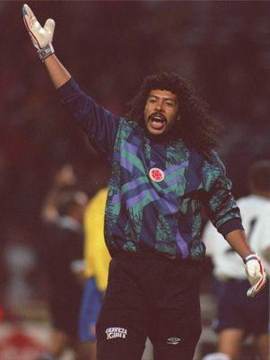 Rene Higuita, uno de los mejores arqueros de la historia del fútbol Sudamericano
