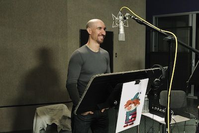 The Two Sides of Scott Menville: Dadding and Sneezing - Meet Sneezy in my newest interview on Babble.com / Disney Dads