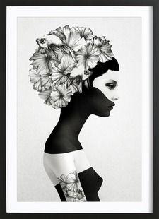 Marianna - Ruben Ireland - Affiche encadrée - bois