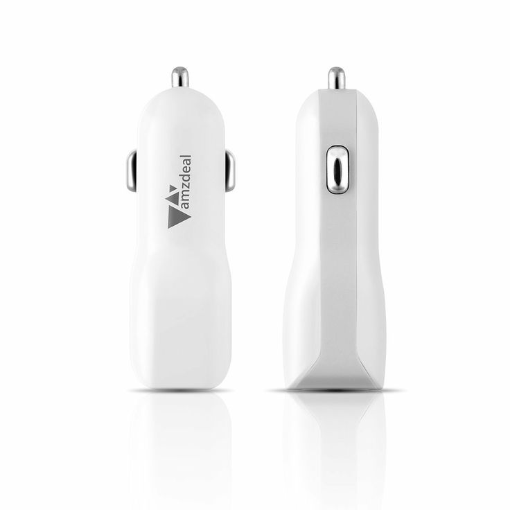 Great little usb car charger. In pure white, looks simple and neat. Can charge mobile phones and   tablets.
