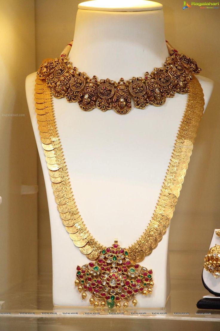Suhasini in gundla haram jewellery designs - Ragalahari Exclusive Coverage Haute Affair By Akritti At Park Hyatt Hyderabad