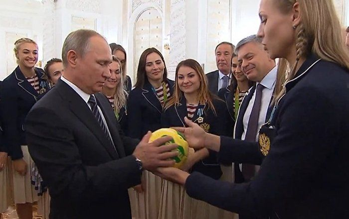 WATCH: Mr. President gets lucky!