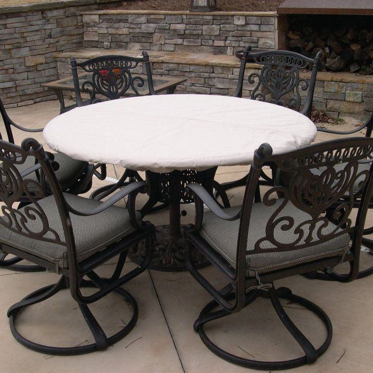 Patio Table Cover Awesome Round Patio Tablecloth With