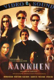 Watch Aankhen Online Free. After a temperamental man is unceremoniously stripped of his duties as a bank manager, he decides to seek revenge by robbing the bank. He trains three blind men to do this risky task for him.