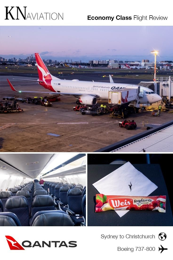 Qantas Boeing 737-800 Economy Class Review: The 737 is