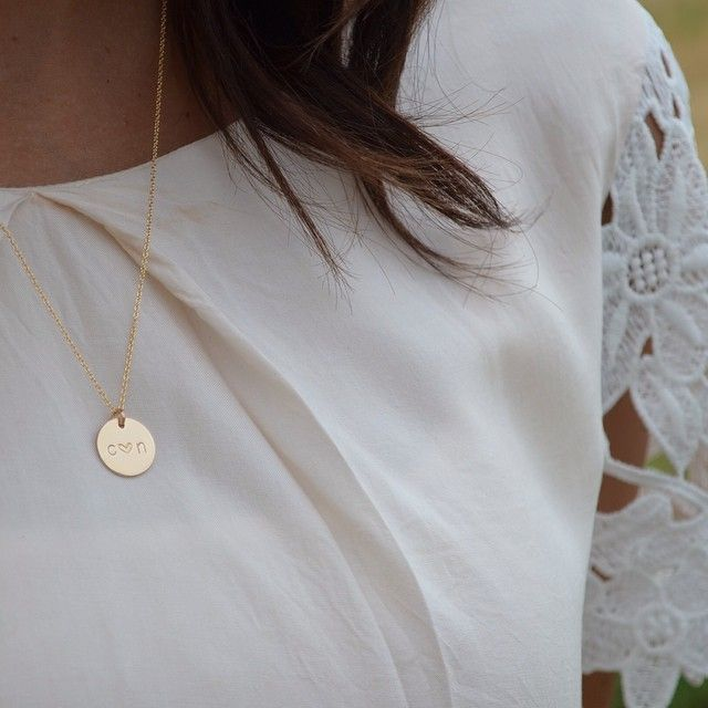 Made by Mary gold necklace // follow on Instagram @madebymarywithlove
