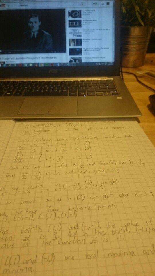 Eulerian and Lagrangian Descriptions
