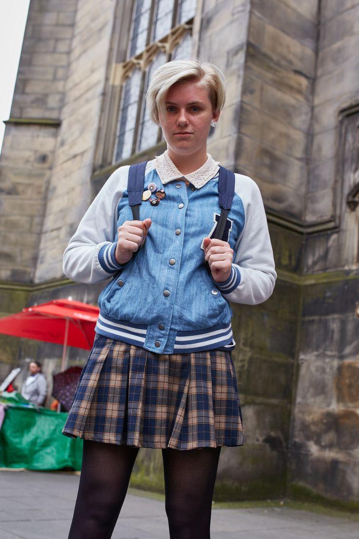 On the street during the Edinburgh International Festival. [Photo: Francisco Gomez de Villaboa]