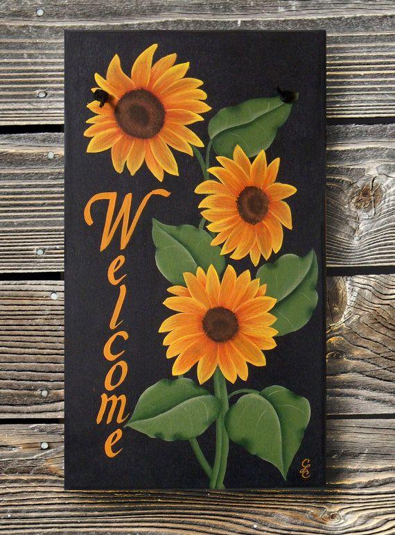 60 Best Sunflower Tole Images On Pinterest Sunflowers