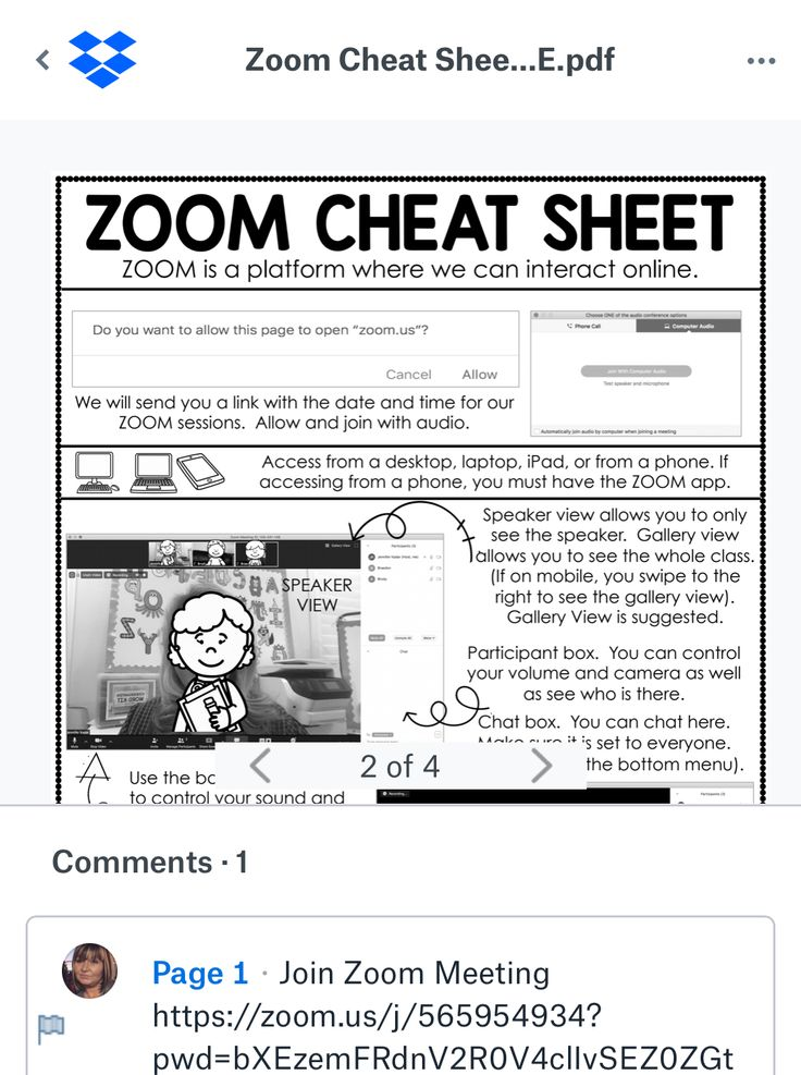Pin on cheat sheet zoom