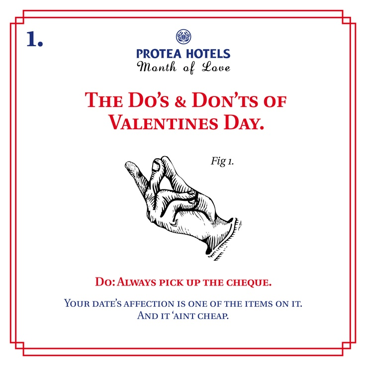 The Do's & Don'ts of Valentines Day