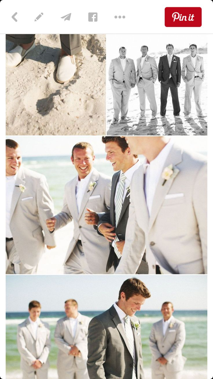 49 best Wedding Groomsmen: Beach images on Pinterest | Casamento ...