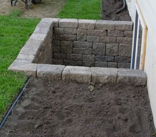 daylight basements - Mine looks almost just like this except it has a lid to protect from water damage and a ladder for a fire escape