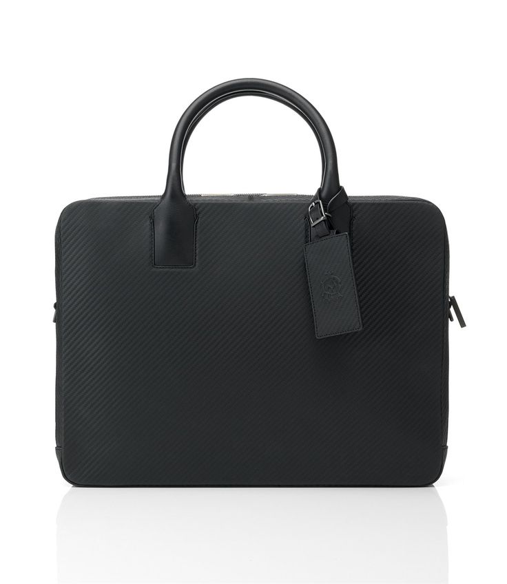 Chassis Double Zip Briefcase - Men's Designer Leather Briefcases, Bags & Luggage - dunhill
