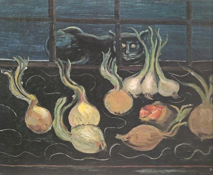 http://img-fotki.yandex.ru/get/5502/77289025.b /0_75a78_f3a1c18e_XL.jpg Б.Григорьев. Натюрморт с котом. 1928-1929. США.